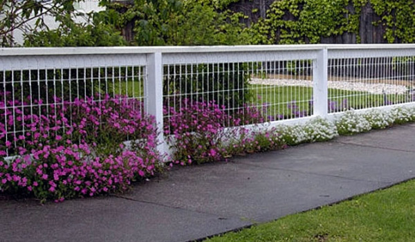 Florida Fence Contractor Wood Wire Fence Is A Great Option