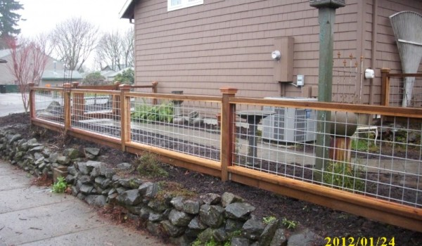 Florida Fence Contractor Custom Made Wood Fence Designs